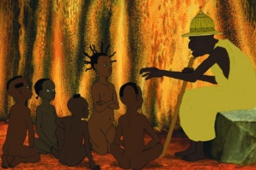 conteur africain