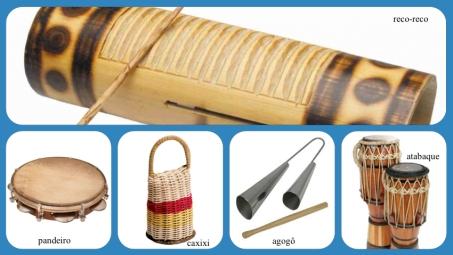 Instrumentos Capoeira
